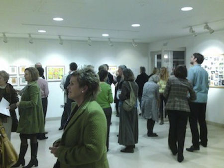 "Private view at the Studio at Pallant House for ""Holidays"" by Joel Howie and Barbara Macfarlane"